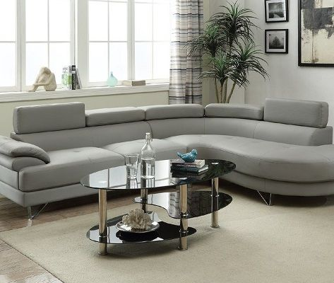 Ketan Right Hand Facing Leather Sectional, by Orren Ellis