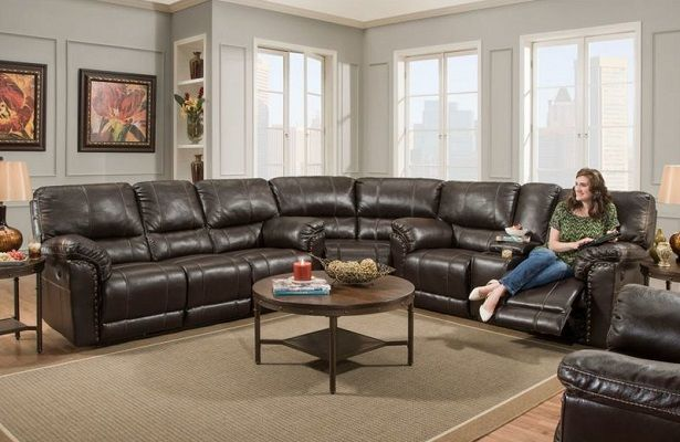Mcglone Reversible Reclining Sectional, by Alcott Hill