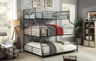 Prather 3 Tier Bunk Bed by Harriet Bee