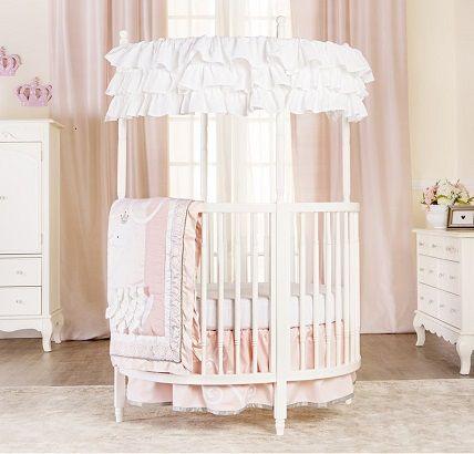 Sophia Posh Circular Crib by Dream on Me