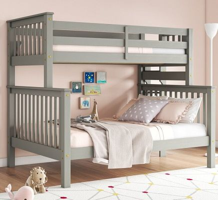 Treva Triple Bunk Bed by Harriet Bee