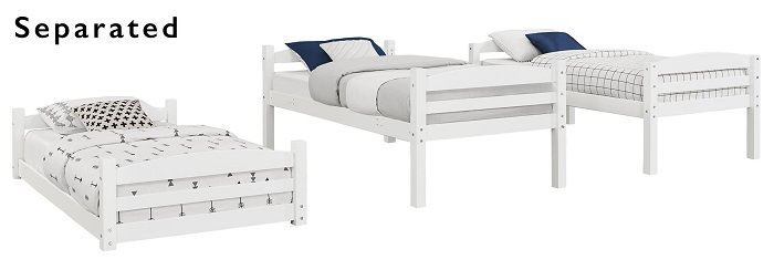 Tristan 3 Tier Twin Bunk Bed, by Better Homes & Gardens