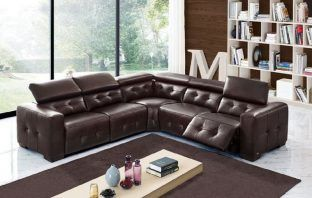 best leather reclining sectionals Bukley by orren ellis