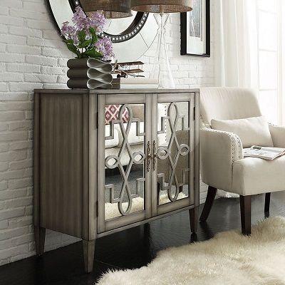 Cortona Mirrored Chest Cabinet, by iNSPIRE Q Classic