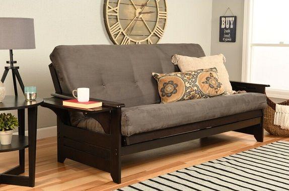 Lebanon Full Cushion Back Futon and Mattress