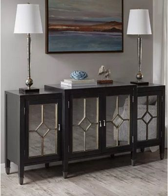 Machiko Buffet Table, by Madison Park