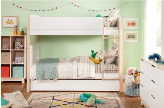 Tiptoe Bunk Bed by Babyletto