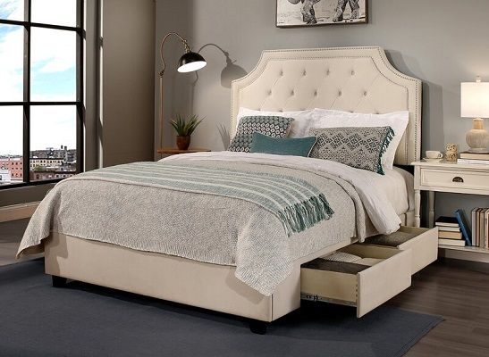 Devitt Storage Platform Bed
