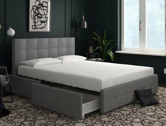 Houchins Upholstered Storage Platform Bed