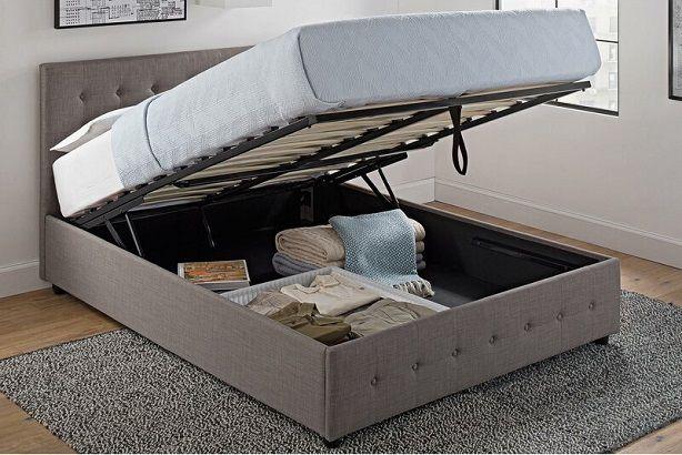 Morphis Upholstered Storage Platform Bed