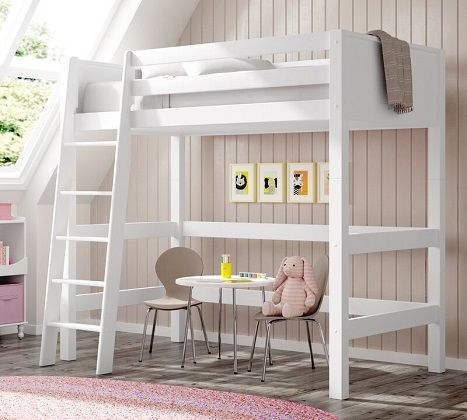 burkley twin loft bed