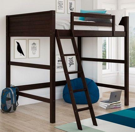 edinburgh full loft bed
