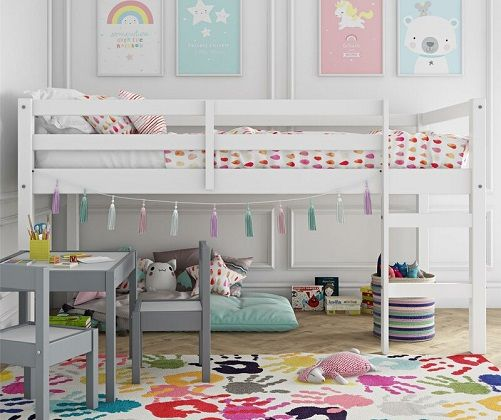 schlemmer junior twin loft bed