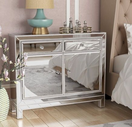 Tracey 2 Drawers Nightstand