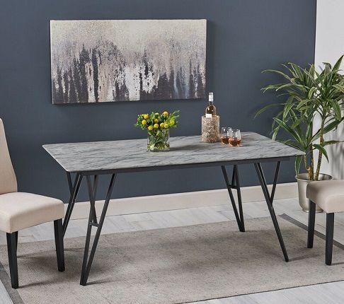 Ahearn Dining Table, by Brayden Studio