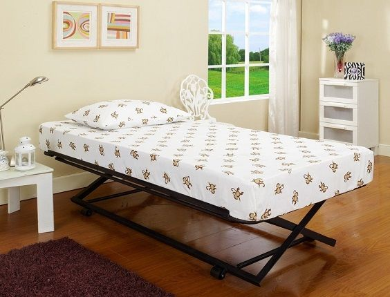 Daybed pop up trundle