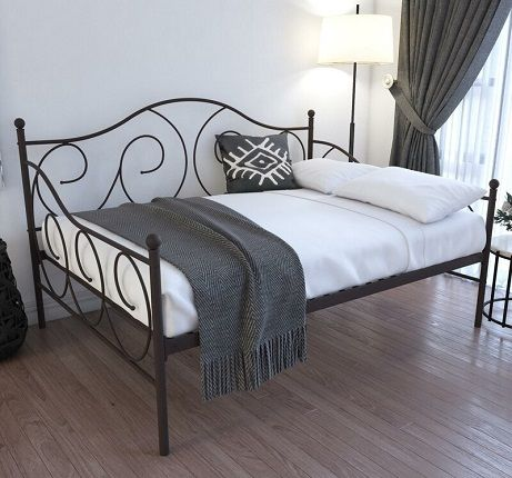 Mikayla Metal Scroll Daybed, by Andover Mills