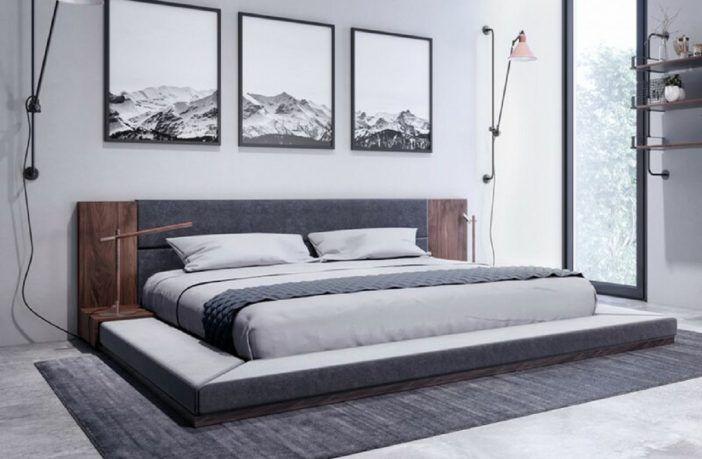 Defalco Platform Bed