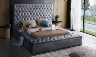 Geralyn Upholstered Storage Platform Bed