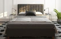 Littrell Upholstered Platform Bed by Wade Logan Review