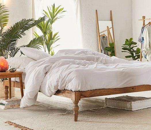 bohemian platform bed