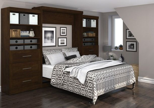 Adela Storage Murphy Bed, by Beachcrest Home
