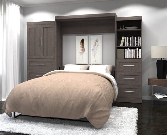 Circe Storage Murphy Bed, by Beachcrest Home