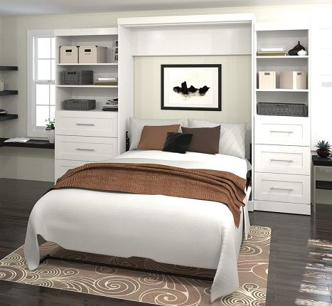 Marjorie Storage Murphy Bed, by Beachcrest Home