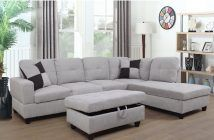 Russ Sectional with Ottoman review