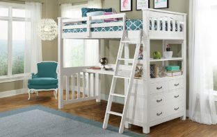 Best Loft Bed with Desk, by Greyleigh