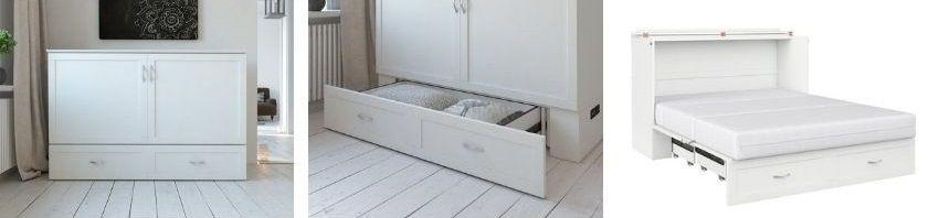 Audet Murphy Bed storage drawer