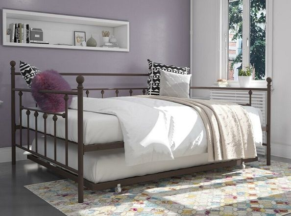 Ione Full Daybed with Trundle, by Andover Mills