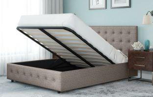Morphis Upholstered Storage Platform Bed Review