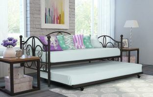 Pattonsburg Daybed with Trundle Review