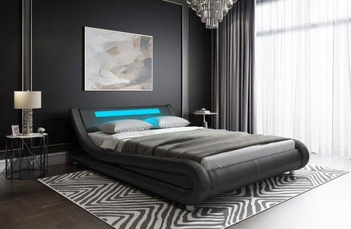 Abner Upholstered Sleigh Bed