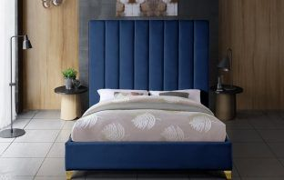 Alaysia Upholstered Platform Bed