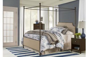 Jasman Low Profile Canopy Bed