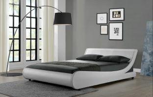 Karr Upholstered Low Profile Platform Bed