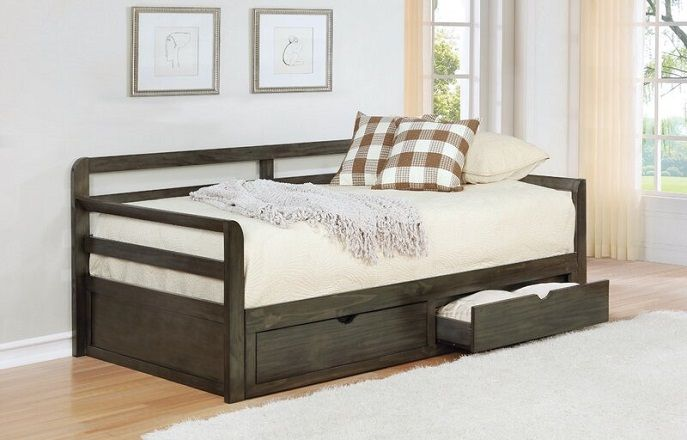 Ruchi Twin XL Daybed With Drawers, by Gracie Oaks