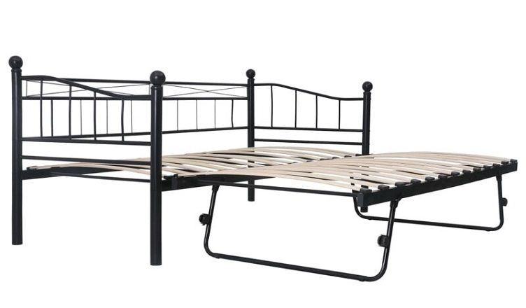 XL Twin Daybed with Pop up Trundle, by East Urban Home