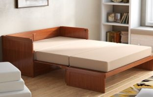 Barham Queen Murphy Bed with Mattress