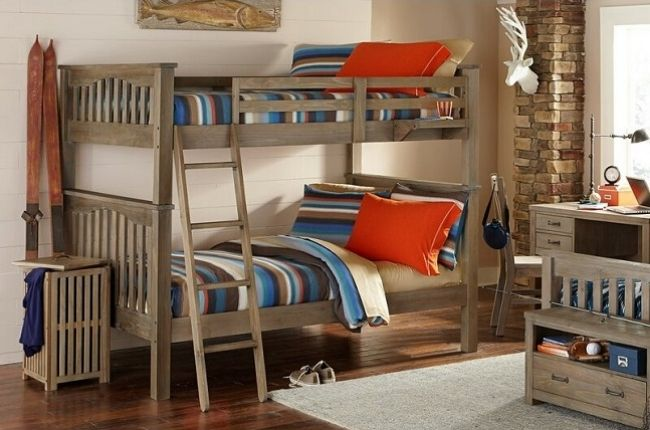 Bedlington Full Over Full Detachable Bunk Bed