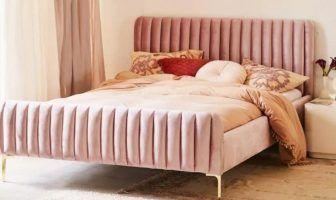 Marcella Velvet Bed