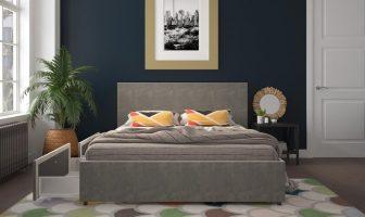 Novogratz Kelly Upholstered Bed with Storage