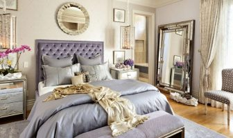 Glam living room and bedroom decor ideas